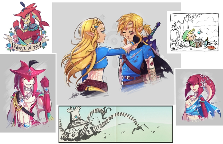 Cover clipart zelda The work fan game So