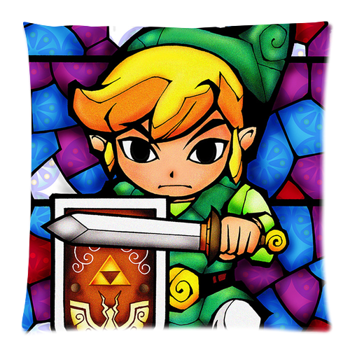 Cover clipart zelda (One Group The Cushion 18x18