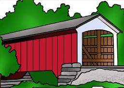 Covered Bridge clipart Covered and Free Bridge Covered