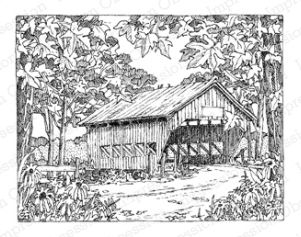 Covered Bridge clipart Covered and Templates 431 Scene