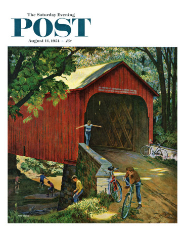 Covered Bridge clipart Simple Covered Bridge Drawing Covered Saturday Sat Bridge Cover
