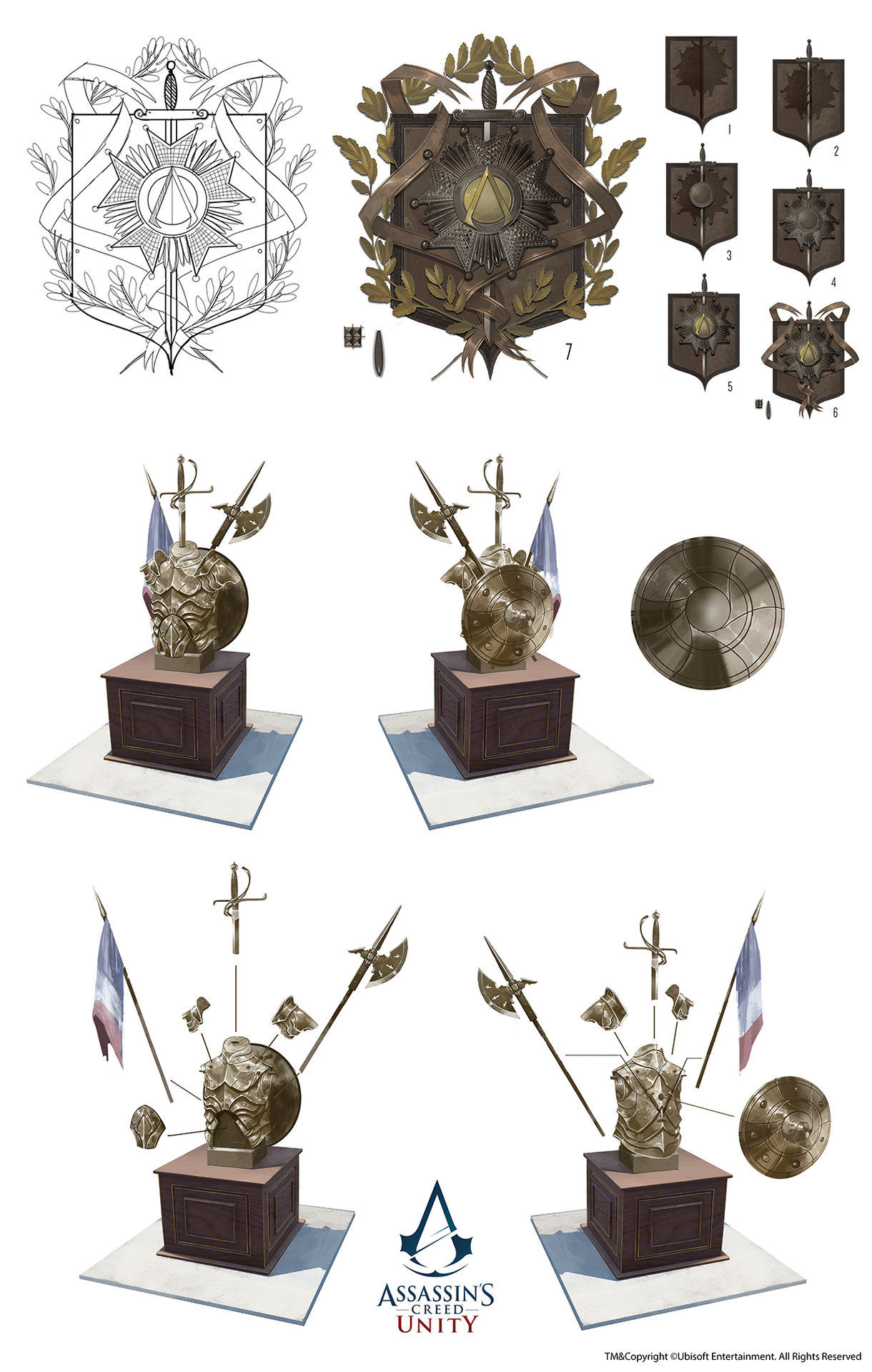 Covered clipart assassin's creed unity Trophy Creed /// room Assassin's