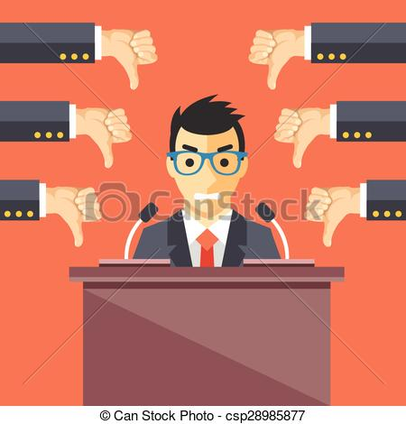 Covered clipart awful Down thumbs Speaker of Speaker