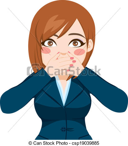 Covered clipart cover mouth Woman Hands Vector Vector Covering