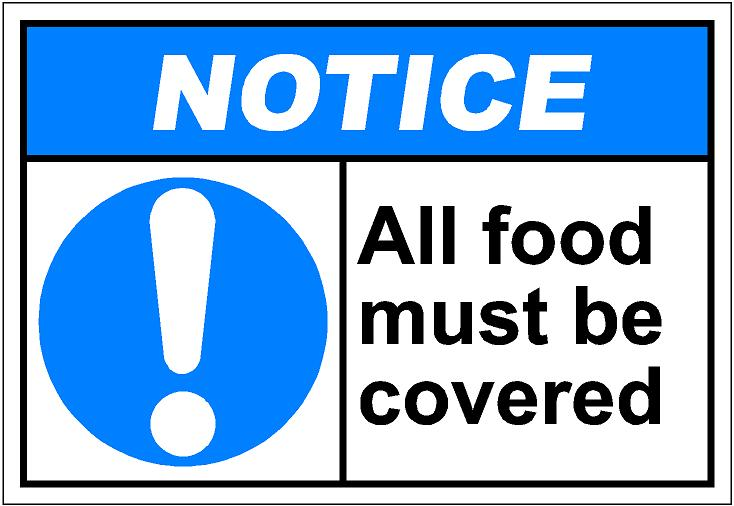 Covered clipart cover your Food SAi all must Clip