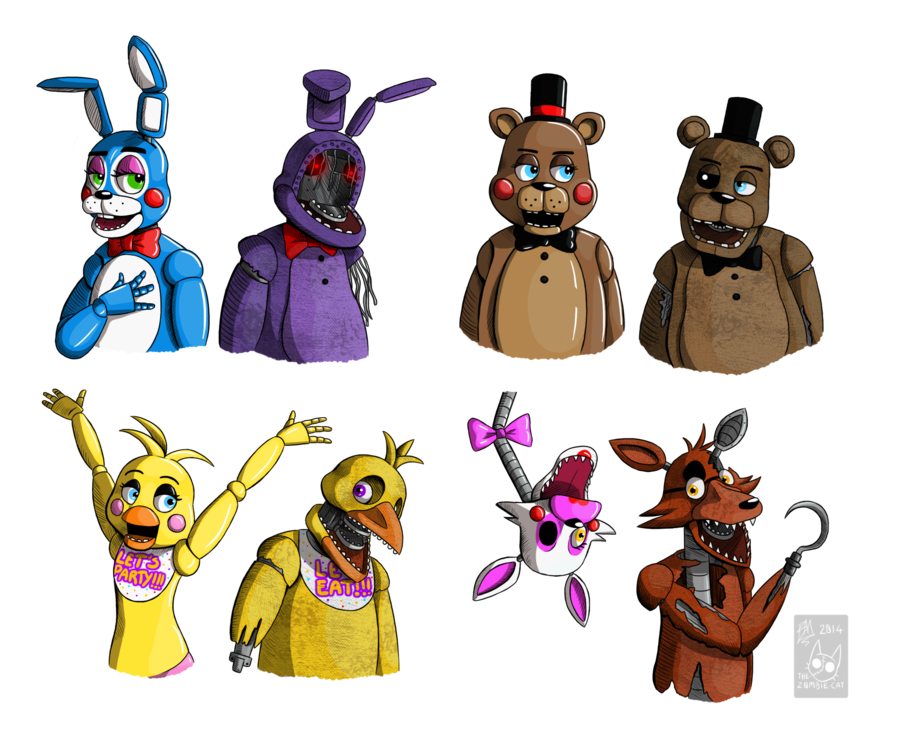 Covered clipart fnaf And and CAT Old THE