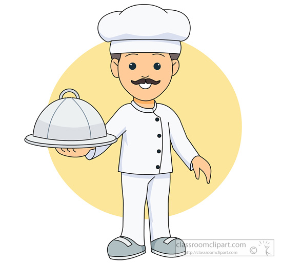 Covered clipart food dish Food jpg holding holding cook