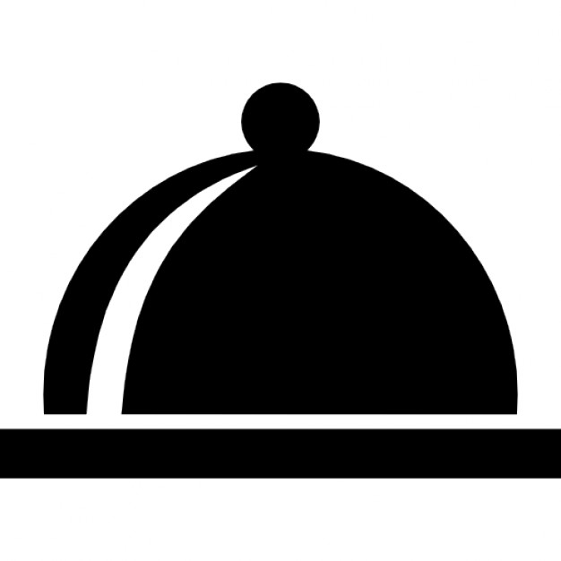 Covered clipart food dish Free Icon food plate of