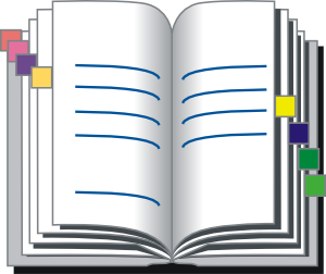 Covered clipart log book Vector online com at Book