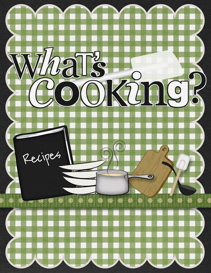 Covered clipart recipe book 20+ book it! Cook Homemade