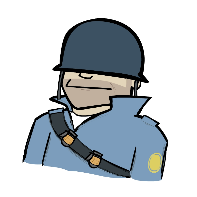Covered clipart tf2 Soldier by art TF2 mr