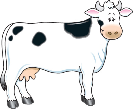 Cow clipart Cow for art Cow free