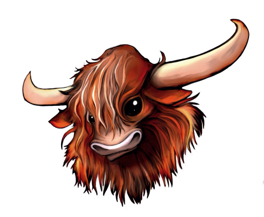 Cow clipart scottish – mechacarassius Cow Highland Cow