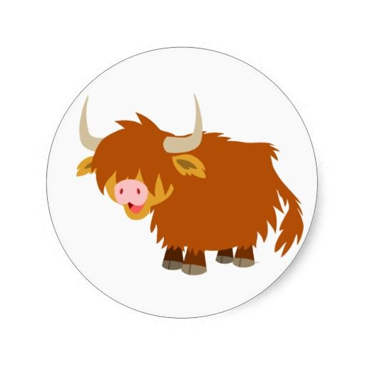 Cow clipart scottish Images Sticker things! best Pinterest