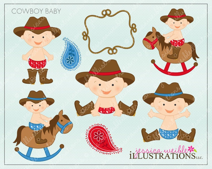 Cowboy clipart baby cowboy Baby Shower Cowboy Clipart boy