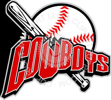 Cowboy clipart baseball Baseball Cowboys baseball