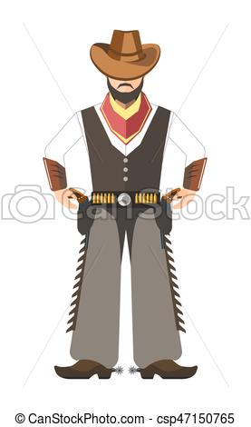 Cowboy clipart bearded Clip of  for with