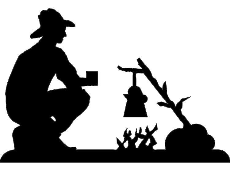 Cowboy clipart campfire Best cowboys on cut images