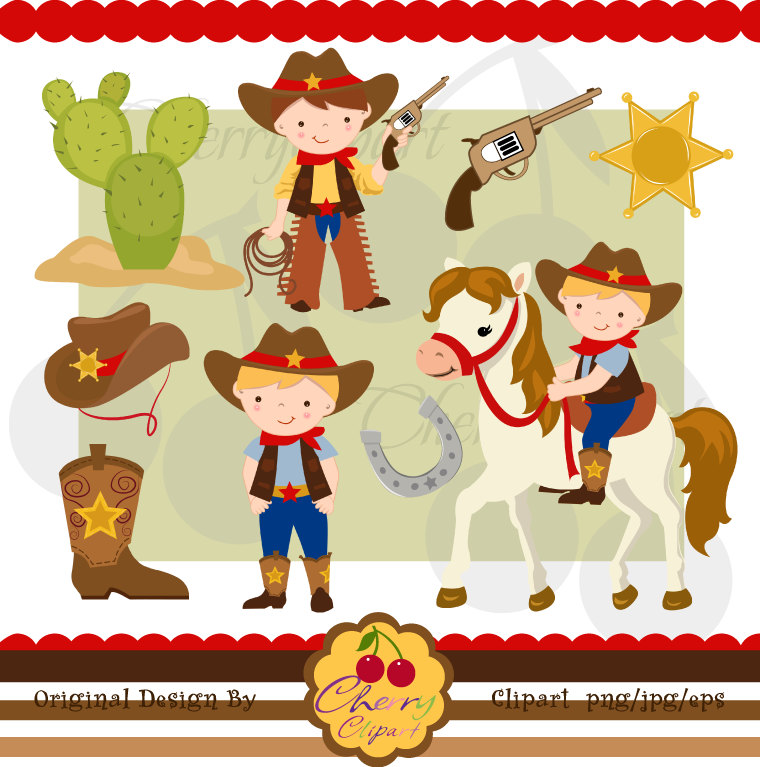 Cowboy clipart cute cowboy Clipart Cowboy Art Clip images