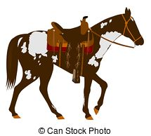 Saddle clipart horse saddle #9