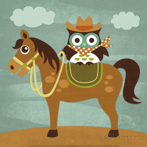 Cowboy clipart owl Lee by AllPosters Horse Lee