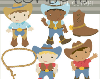 Cowboy clipart pants And Boys Cow Personal Set
