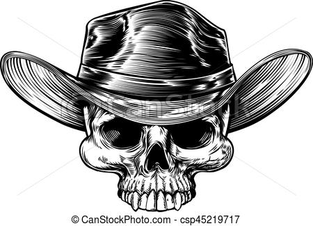 Cowboy clipart skull Drawing Cowboy Art Cowboy Skull