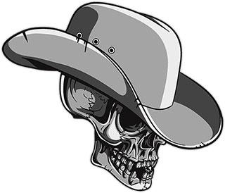 Cowboy clipart skull Skull Animated Clipart Graphics Cowboys