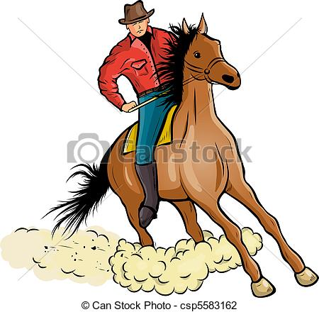 Cowboy clipart vaquero Horse is free Illustrations 86
