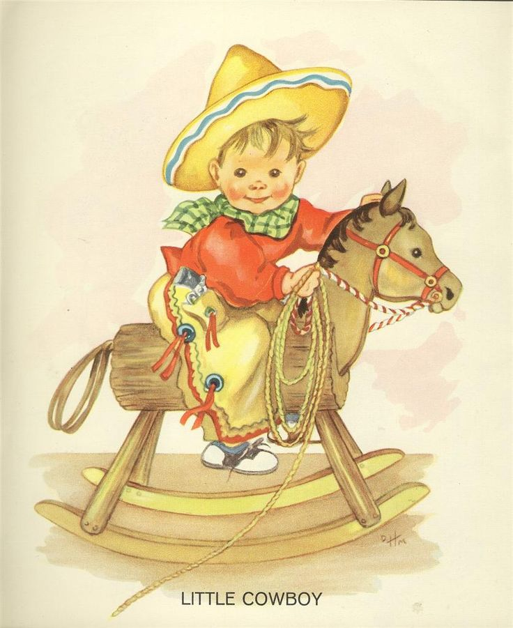 Cowboy clipart vintage child 55 vintage Cowboy' on images