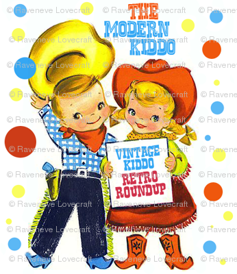 Cowboy clipart vintage child Wild cowgirls kids texas wild