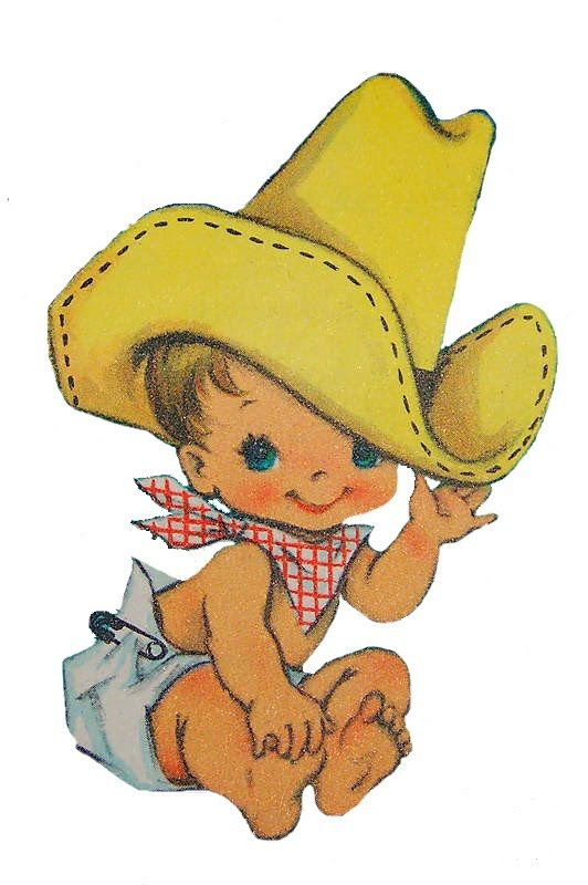 Cowboy clipart vintage child 155 CowboyCowboy Followers!! Pinterest on