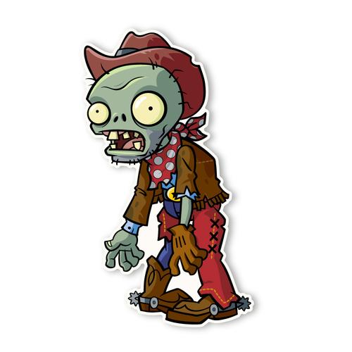 Cowboy clipart zombie 360 1 Zombie Plants 2: