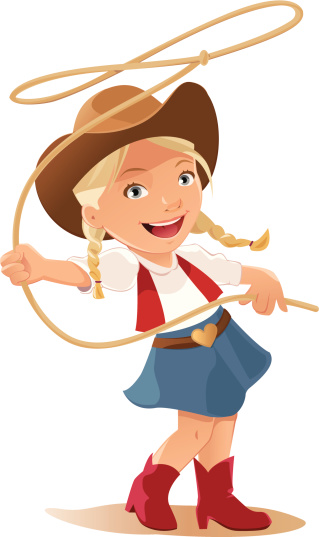 Cowgirl clipart background Cartoon Clipartion Clip Cowgirl com