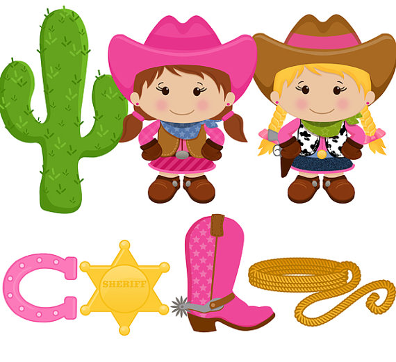 Western clipart kid  illustrations free clipart art