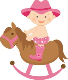 Cowgirl clipart baby shower Cowgirl Cowboy semana Minus Pinterest