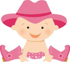 Cowgirl clipart baby shower BabyCowgirl · cowgirl e Minus