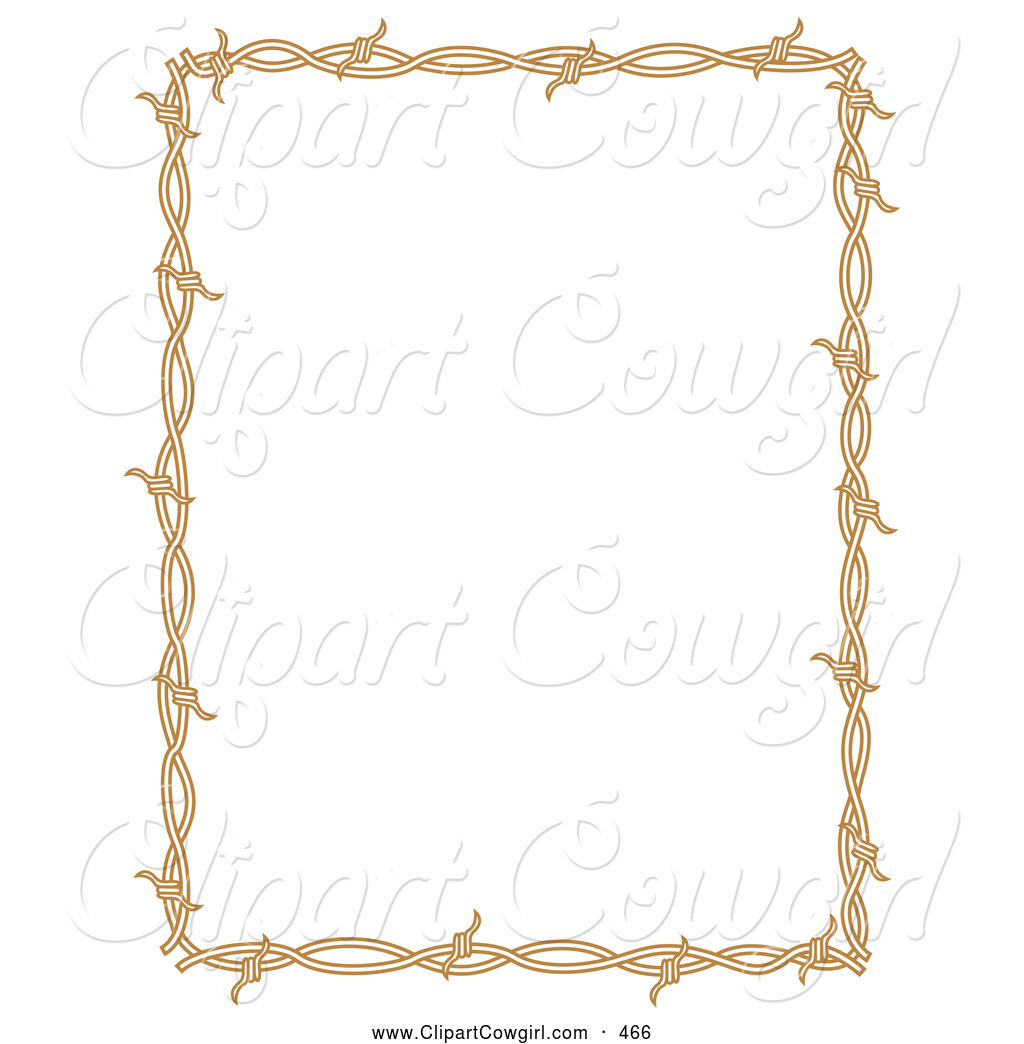 Cowgirl clipart border Royalty Stock Cowgirl Borders Free