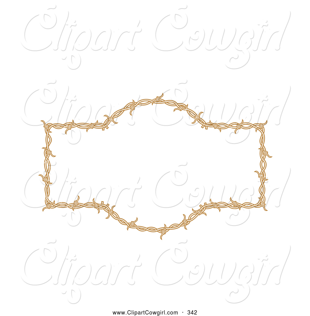 Cowgirl clipart border frame Background Borders Royalty White Barbed