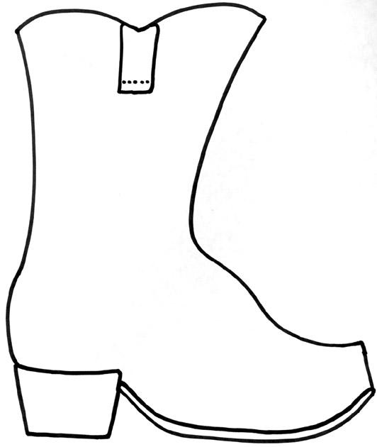 Shoe clipart preschool #3