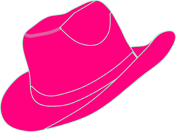 Cowgirl clipart cowgirl hat Pinterest  pink cowgirl Craft