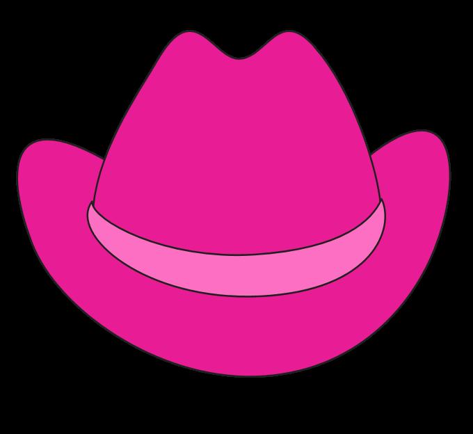 Cowgirl clipart cowgirl hat Cowgirl minnie Felt mouse Minnie