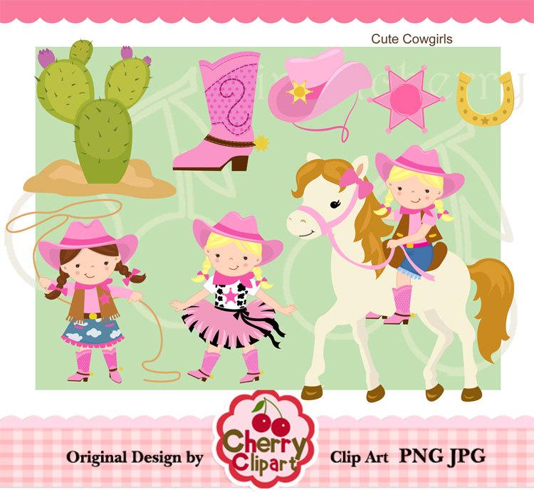 Cowgirl clipart cute  Cute Clipart Cowgirl