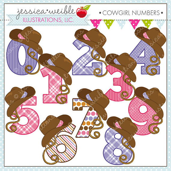 Cowgirl clipart cute Commercial for  Clipart Cowgirl