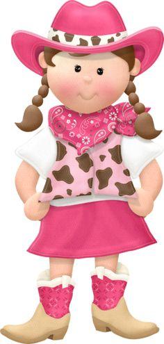 Cowgirl clipart cute E COWBOY COWGIRL Pinterest COWBOY