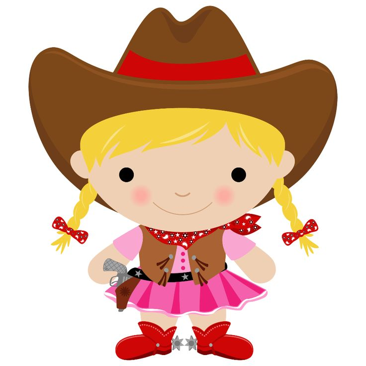 Cowgirl clipart cute Animaux la images on images