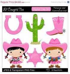 Cowgirl clipart cute Clipart peachpopsclipart Borders 00 pic