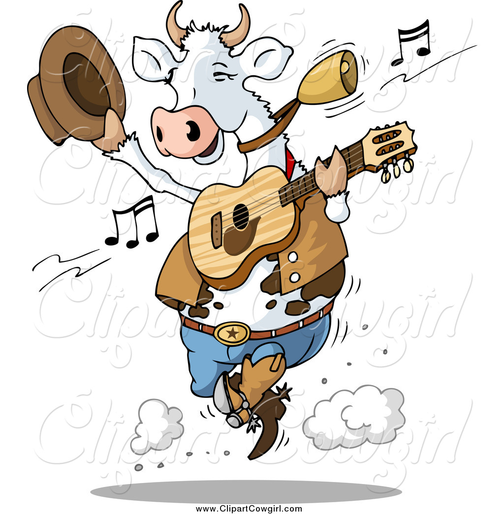 Cowgirl clipart dancing Country Holger by of Cow