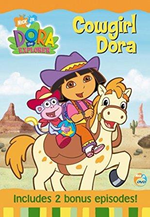 Cowgirl clipart dora DVD: [Import] Dora Dora Cowgirl