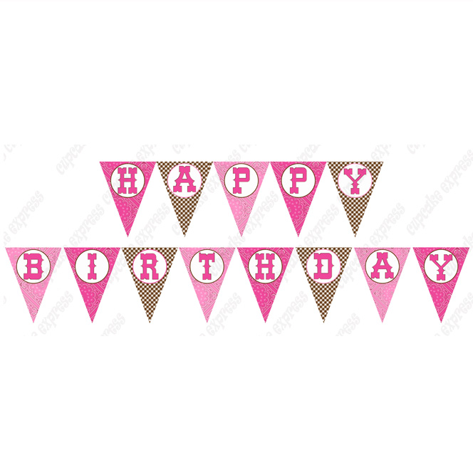 Cowgirl clipart happy birthday Happy happy cowgirl Banners birthday